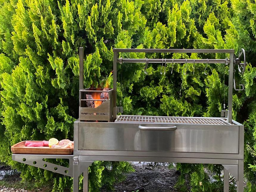 Santa Maria style grill